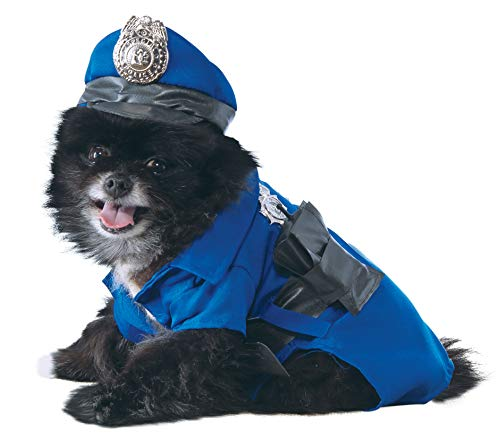 Police Dog Halloween Costume (Rubie's Police Dog Pet Costume,)