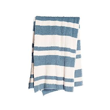 BarefootDreams Cozychic Baja Blanket - Dusk