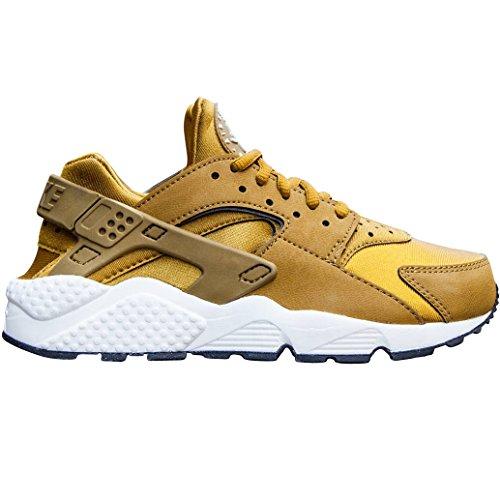 Nike Womens Air Huarache Run (bronzo / Bianco) Taglia 6 Us