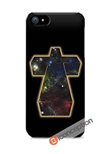 Universe 3d Cross - Iphone 4/4s Cover