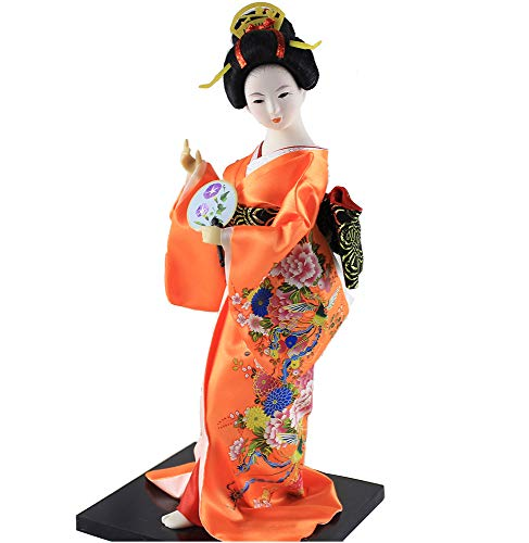 Japanese Girl's Day Handicraft Geisha Kimono Girl Belle, used for sale  Delivered anywhere in USA