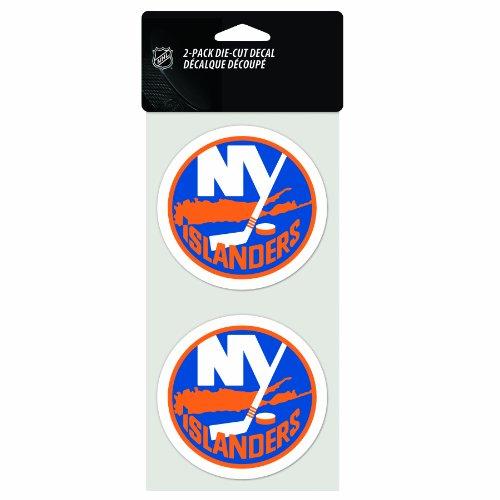 NHL New York Islanders 2-Piece Die-Cut Decal, 4