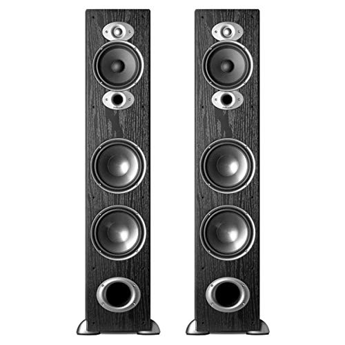 Polk Audio RTiA7 High Performance Floorstanding Loudspeakers - Pair (Black)