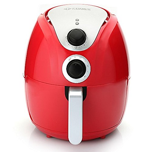 Cook's Companion Nonstick Air Fryer Red