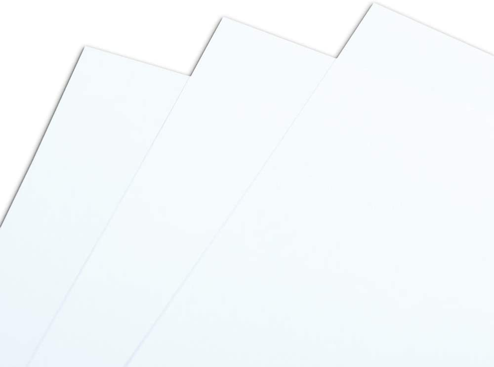 DCP CLAIREFONTAINE Ream of Paper 125 Sheets 350 g A3 420 x 297 mm FSC-Certified White