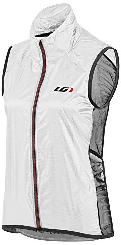 (Louis Garneau Women's Speedzone X-Lite Bike Vest, White/Black,)