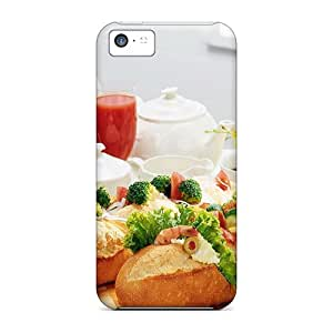 Hot PzL17562ARht Sausage Salsa Baguette Cases Covers Compatible With Iphone 5c