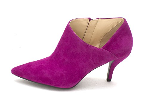 GUESS Womens glori Leather Pointed Toe Classic Pumps, Pink Suede, Size 6.0