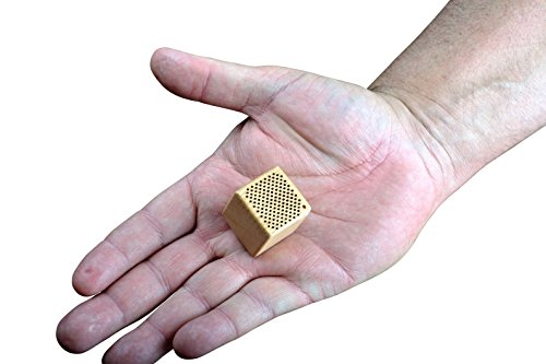 BigR Audio | Quark | The Worlds Smallest Wireless Bluetooth Speaker | Most portable Around | 1 inch wide | Extremely Loud | Quality Sound | Fits In Your Palm