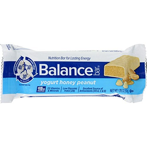 Balance Bar Yogrt Hny Pnt Size 1.76z Balance Bar Yogurt Honey Peanut 1.76z Ea