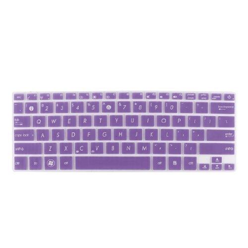 Amazon.com: eDealMax Teclado portátil Protector claro púrpura Para Asus UX21 / X201 / X202 / S200: Electronics
