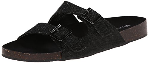 Wanted Cujo Women Black Sandal Shoes rqOnw6Rr