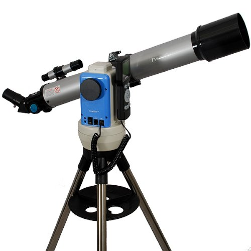 TwinStar Silver 70mm iOptron Computerized GPS Refractor Telescope