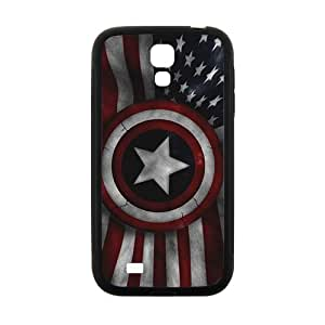 HGKDL Captain America's Shield Brand New And Custom Hard Case Cover Protector For Samsung Galaxy S4