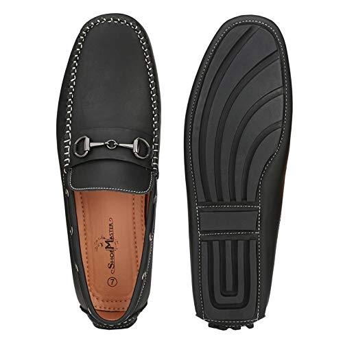 ShoeMaster Men's Black Loafer Shoes: Buy Online at Low