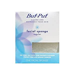 Word honour. facial sponge buf puf are