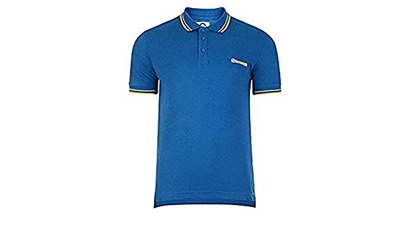Lambretta - Polo - para hombre azul azul cobalto Medium: Amazon.es ...