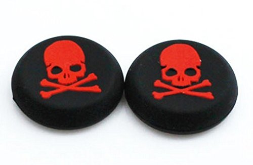 Red-Skull-Theme-Thumb-Grip-for-PS4-Xbox-One-Xbox-360-PS3