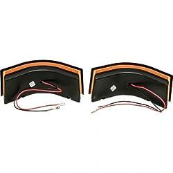 LED Work Light Kit – 18W Curved Rectangular Ambe