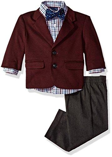 Jacket Pants Shirt Bow Tie - 1