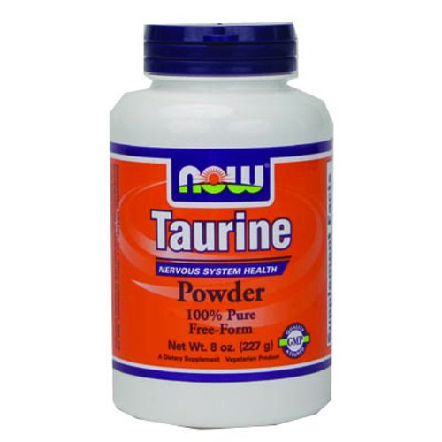 NOW Foods Taurine Pure Powder, 8 ounce