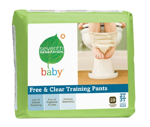 Seventh Generation Training Pants, 29 Count (Pack of 4) by Seventh Generation