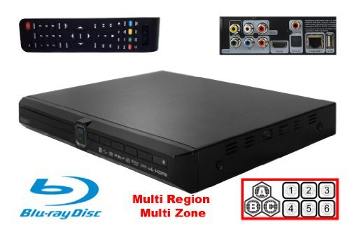 SW Blu Ray DVD player – Network, USB, HDMI, Component Video, Composite Video