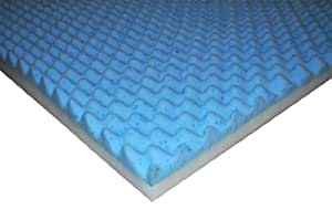 Flex Form 2-Inch Gel Memory Foam Topper, Eastern King Size