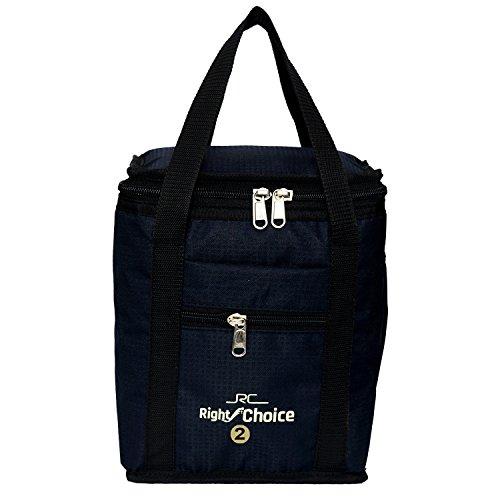 Right Choice Bags Silk School Tiffin Black Lunch Bag