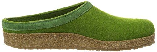 Haflinger Torben - Zapatillas de casa Unisex adulto Verde