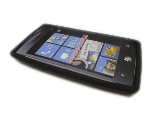 N4U Online Black Silicone Case Cover Skin For Samsung I8700 Omnia - Omnia Case Silicone