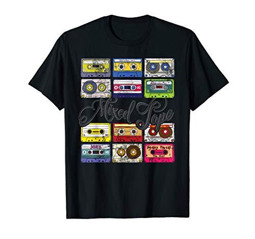 (Mixed Tape - Vintage Retro 80s Cassette Tapes T-Shirt)