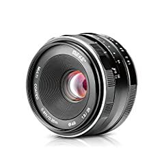 Meike MK 25mm f/1.8-16 fixed Wide Angle Lens for Fujifilm Cameras with APS-C  With its large aperture opening up to F1.8-16, it has a high light intensity and allows precise recording even in poor light conditions. The lens is multi-layered, ...