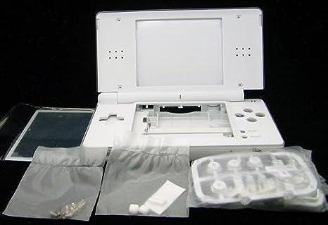 SATKIT Carcasa Recambio para Nintendo DS Lite (Color Blanco ...