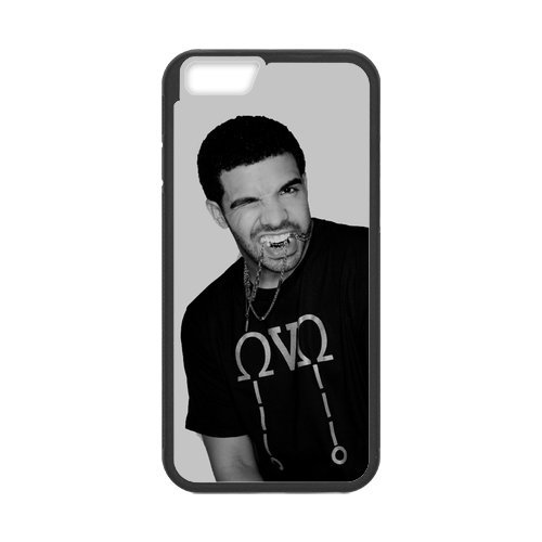 "Fayruz - iPhone 6 Rubber Cases, Drake Hard Phone Cover for iPhone 6 4.7"" F-i5G475"