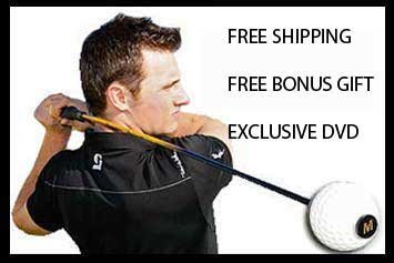 Momentus Speed Whoosh Golf Swing Trainer - Men Right Hand - Free Bonus Gift, Free Shipping, Exclusive Instructional DVD