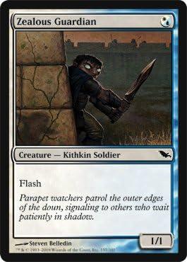 Shadowmoor Magic The Gathering Zealous Guardian