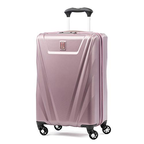 (Travelpro Maxlite 5 Carry-on Spinner Hardside Luggage, Dusty Rose)