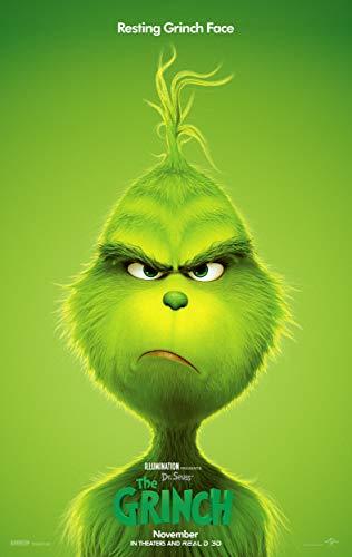 The Grinch Movie Poster Limited Print Photo Benedict Cumberbatch Rashida Jones Kenan Thompson Size 24x36#1 ()