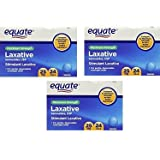 Equate Laxative Maximum Strength Sennosides 25 mg, 24 Pills (Compare to Ex-Lax) Bulk 3 Pack