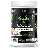 Bio Nutrients Aceite de Coco Orgánico RBD, 930 ml