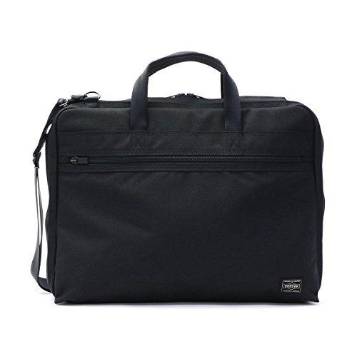 [ポーター] PORTER TENSION テンション 2WAY ブリーフケース ビジネスバッグ(B4対応) 627-07308 B006FWEJSQ ブラック