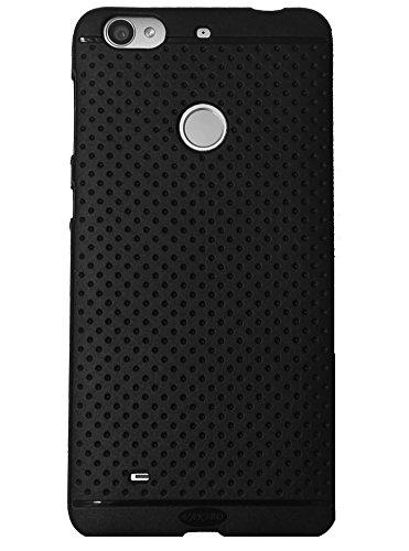 VAKIBO Black Dotted Premium Soft Silicon Back Cover Case for LeEco Letv Le1S/Le1s Eco