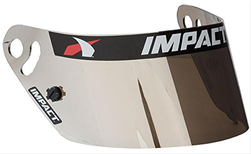 - Impact Racing 13100908 Shield, Champ/Nitro/Cycl, Silver Chrome
