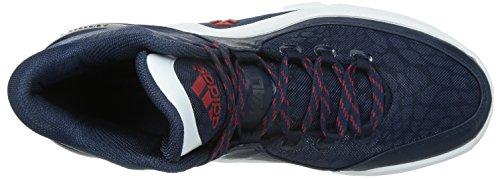 Adidas Performance J Wall 2 Scarpe Da Uomo Scarpe Da Basket Scarpe Sportive Blu S85576, Misure: 49 1/3