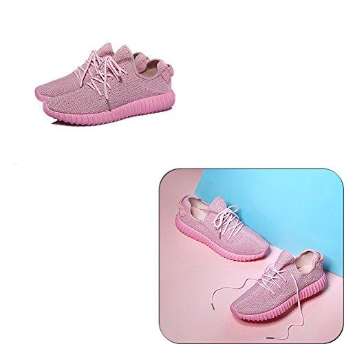 Disponibili Sport 8 EU36 Primavera Scarpe Rosa 5 Colori Colore Nero Donna UK4 All'aperto 2 dimensioni Ginnastica Da Da Taglie Ballerine 230mm L LIANGJUN zqYPz