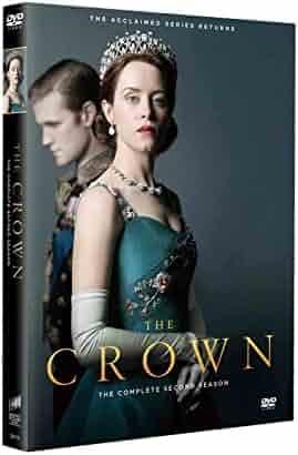 The Crown Season 2 (3-Disc DVD Set 2018) Next Day Shipping