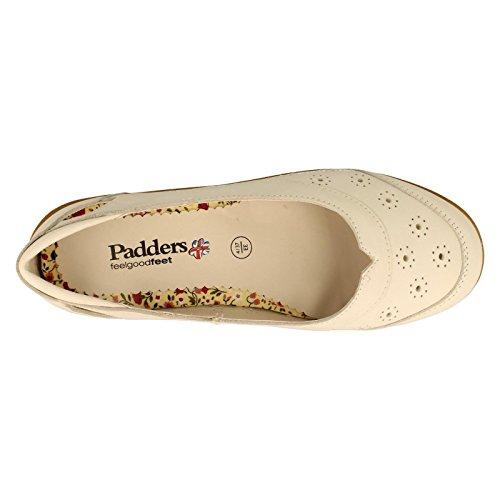 Padders - Sandalias con cuña mujer Blanco - blanco