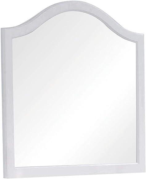 Coaster Home Furnishings Dominique Dresser Mirror, White