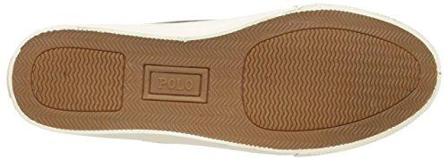 Polo Ralph Lauren Mænds Tavis Sneaker Tan 9OxMVqj1yO